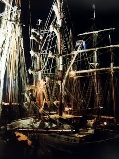 Douarnenez 2000 bei Nacht (Foto: Uli Stollberg)