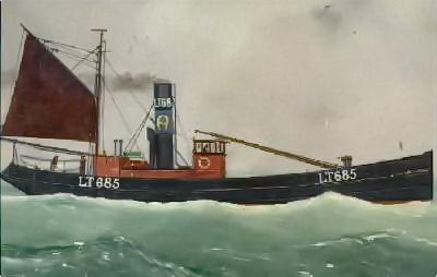 Steam Drifter Norford Suffling (Foto: Lowestoft & East Suffolk Maritime Museum)