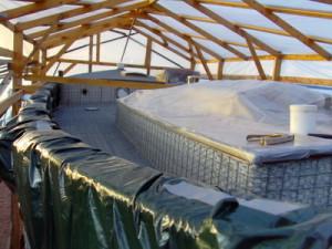 Reling & Deckshaus abgedeckt